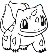 Väggdekor - pokemon bulbasaur