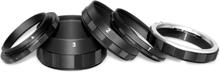 Macroset 3st Mellanringar för Canon EOS