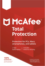 McAfee Total Protection 2019 - 1 enhet