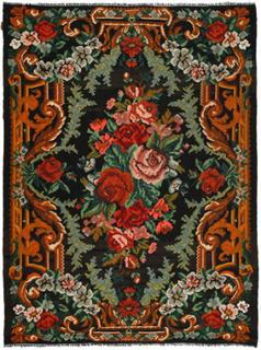 Rosenkelim matta 224x296 Orientalisk Matta