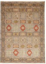Kashmir äkta silke matta 248x340 Orientalisk Matta