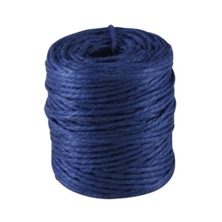 Snöre av Jute Cylinder Blå