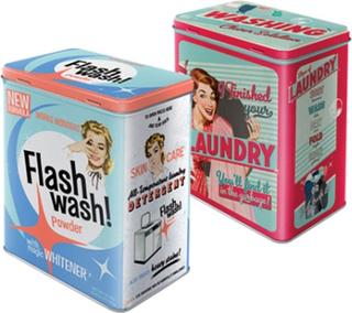 Plåtburk Laundry Wash