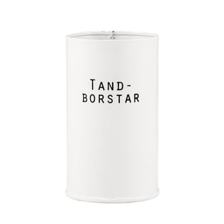 Plåtburk Svarte Petter Tandborstar