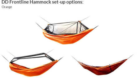 Frontline Hammock Oranssi