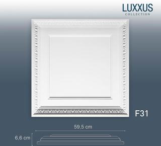 3D väggpaneler för dörr eller taket ORAC inredning F31 LUXXUS tak p...
