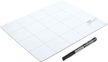 Magnetisk matta & whiteboard 25x20cm