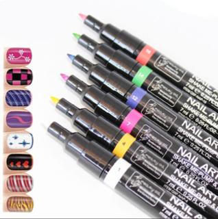Nagellackspenna, nail art pen. flera färger