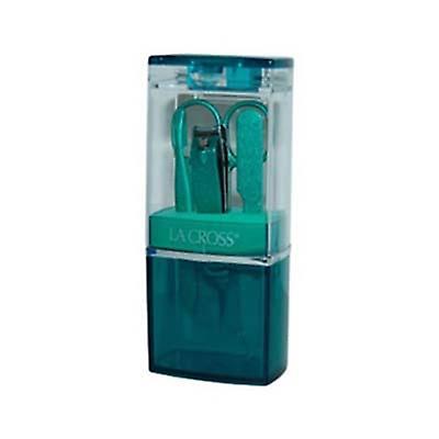 Sally Hansen La Cross feiring plast Green 4 stykker Grooming Kits 4...
