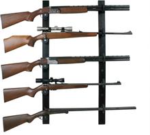 Nor-Lyx Coat rack 5 Weapon vapenskåp Svart 111x19x6
