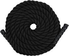 vidaXL Klätterrep 9 m polyester svart