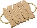 Goodlife Viking Cork Woodware - grytunderlägg med