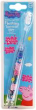 Peppa Pig Blinkande Tandborste 3+