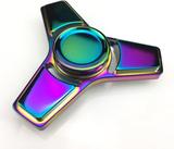 Fidget spinner tripod rainbow