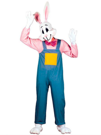 Land kanin kostume (buksedragt hænder fødder maske) - Fruugo