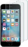 2 pack härdat glas - iphone 6 / 6s plus skärmskydd