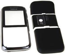 Nokia 6233 skal, svart, 4 delar, original
