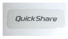 Sony Ericsson W550 vit QuickShare loga