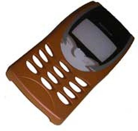 Nokia 8210 front, orange, original