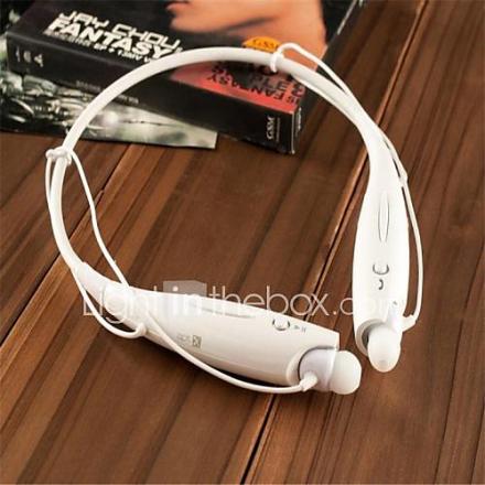 niskasangallisena tyyli langaton urheilu Stereo Bluetooth Headset kuuloke-mikrofoni iPhonelle ja muille