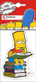Simpsons - bart reading