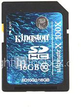 16GB Kingston SD / TF SDHC-muistikortti (luokka 10)