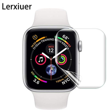 Full For Apple Watch 4 3 2 1 accessories iwatch 42mm 38mm 44mm 40mm 9D watch Anti-Shock Screen Protector Cover Protective Film