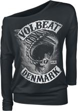 Volbeat - Flying Skullwing -Langermet skjorte - svart