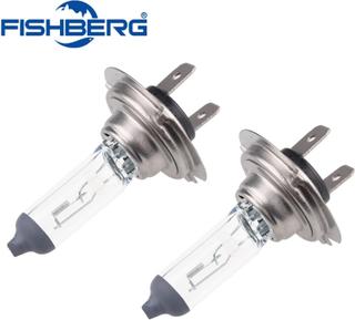 10pcs/lot H7 Halogen Car Light12V 55W Car Bulb Halogen 4300K White Fog Halogen Bulb Car Head Lamp Light 12V Car Light Lamp