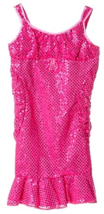 Fest klänning, rosa