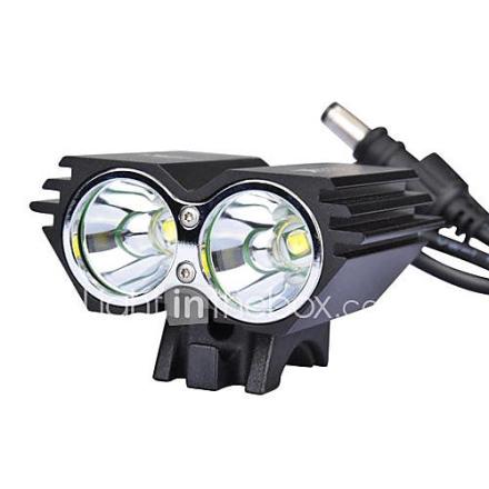 2U2 Bike Light / SolarStorm X2 2xCree XM-L U2 2000 lumenia LED 4 tilan LED Bike / Polkupyörä Front Light (12 2T64MX2BL)