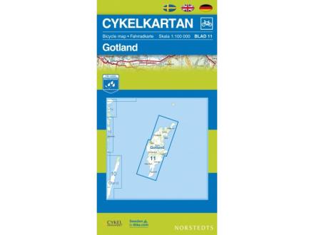 Norstedts Sykkelkart Ark 11 Gotland