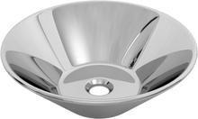 vidaXL Handfat 42x14 cm keramik silver