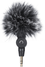 Outdoor Furry Microphone Muff Windshield for Saramonic SR-XM1 Microphone