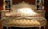 barock säng dubbelsäng 168 x 200 sovande rum antik