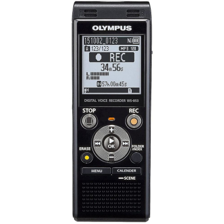 Olympus Digital Voice Recorder 8GB med indbygget USB plus Micro SD ...