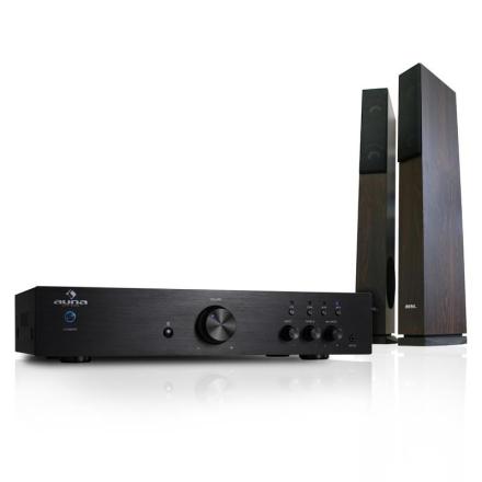 "Elegance Tower Bluetooth"" 2.0 HiFi-set | MP3-CD-player | förstärkare 600W"
