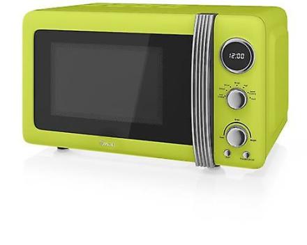 Svane Retro Digital mikroovn 20L 800W - Lime/grøn (SM22030LN)