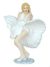 Monroe life size white dress 179 cm