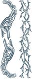 Tatueringar för vuxna - Kedjor One-size