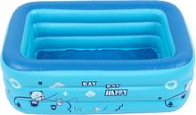 Kinderbaby Kinder Aufblasbare Schwimmbad 3 Schicht Pool Sommer Wasser Spaß Spiel Spielzeug