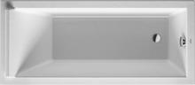 Duravit Starck Komplet Badekar m/Rygglene, t/Innmuring 160x70 cm