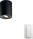 Philips Spot Singel Hue Pillar White Amb Svart