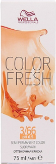 Wella Color Fresh pH 6.5 3/66 Dark Intensive Violet Brown
