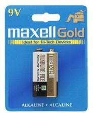 batteri 9V/6LR61 Alkaline 1-pack