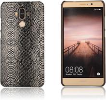 Huawei mate 9 skal med läder textur - orm textur