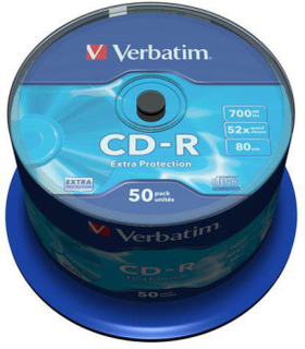 CD-R VERBATIM 700MB 50/FP