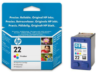 Bläckpatron HP C9352AE 22 Färg
