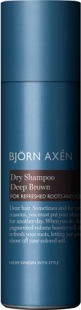 Björn Axén Dry Shampoo Deep Brown, 200 ml Björn Axén Torrschampo