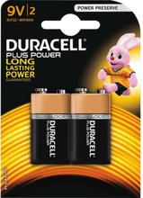 Plus Power 9V - 2 Pack
